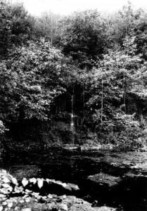 Klein-Wasserfall-Quelle