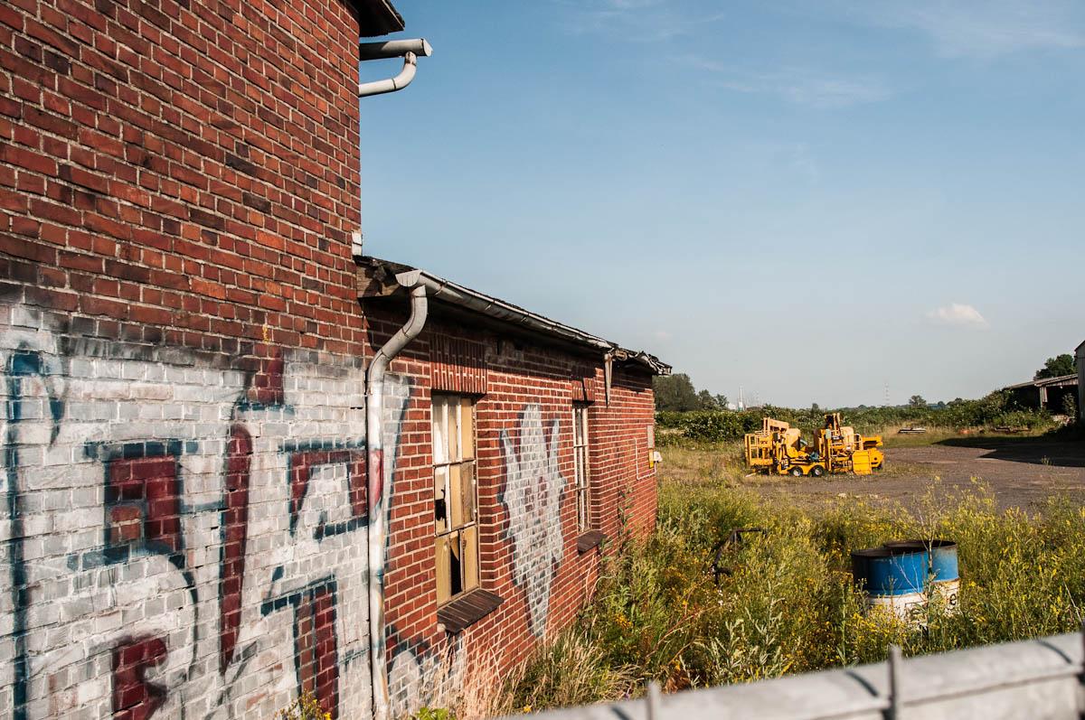 Alte Werfthallen oder: der Opa ist der beste