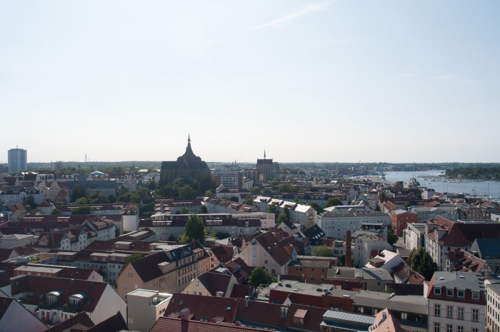 Sankt Marien zu Rostock.
