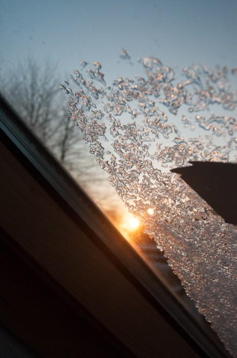 Das Fenster zu öffnen.