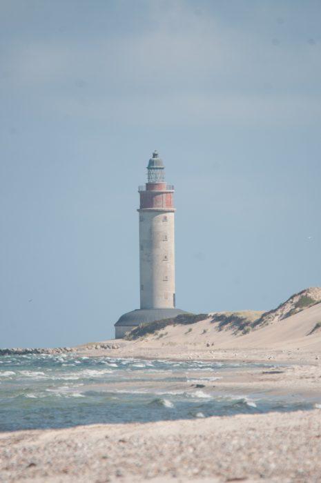 Ziel der Wanderung: Leuchtturm Anholt.