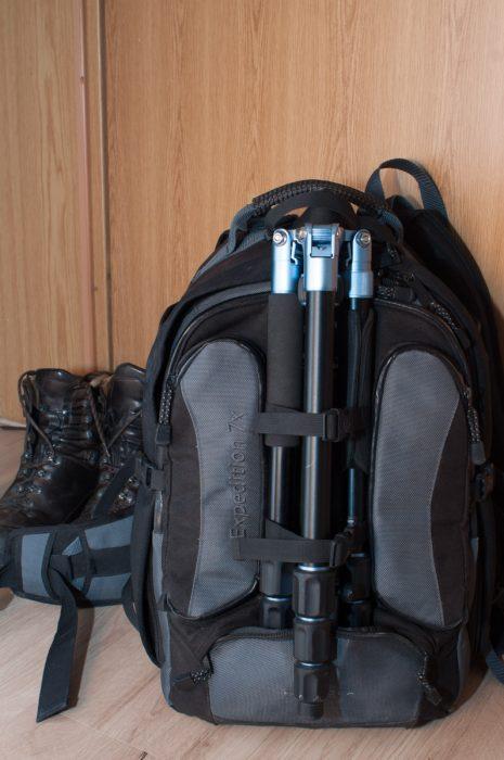 Photorucksack für den Outdoor-Gebrauch